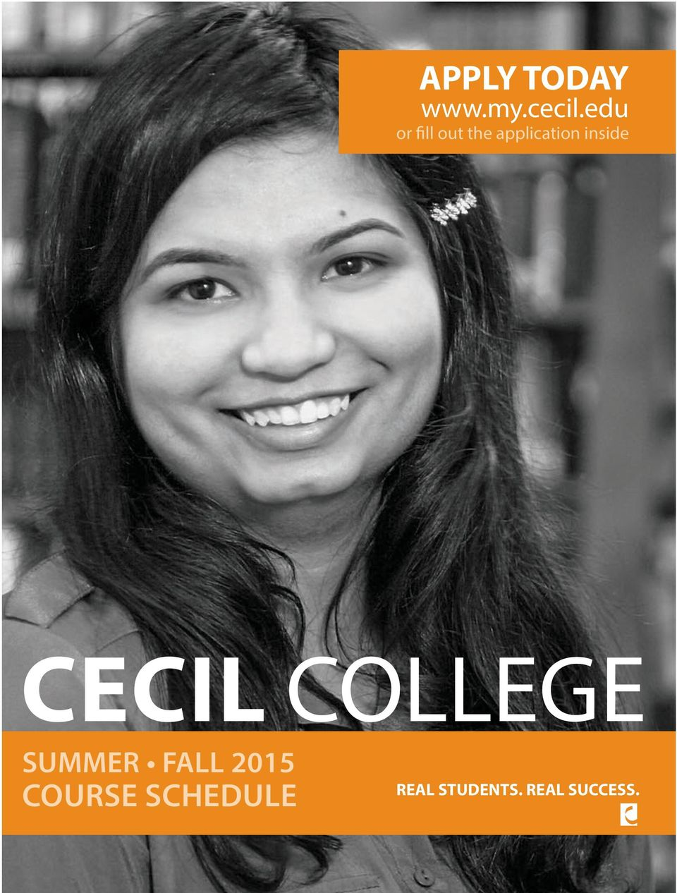 inside CECIL COLLEGE SUMMER FALL
