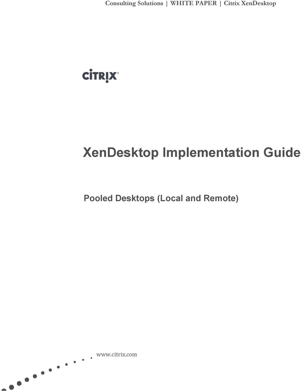Implementation Guide Pooled