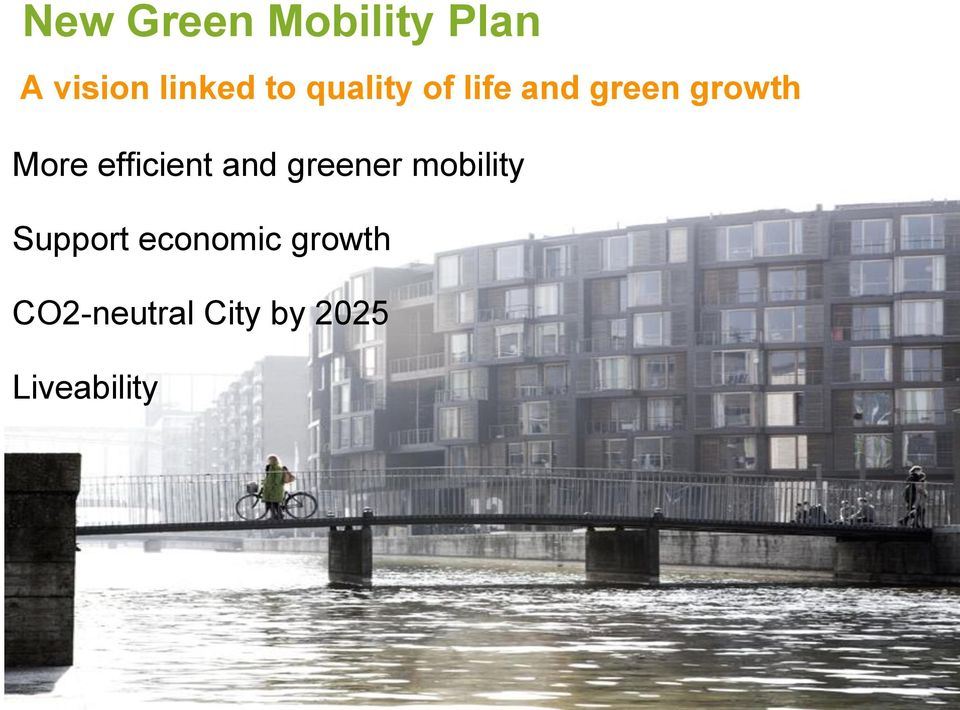 efficient and greener mobility Support