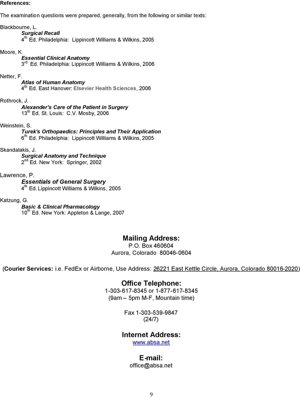 The American Board Of Surgical Assistants Pdf