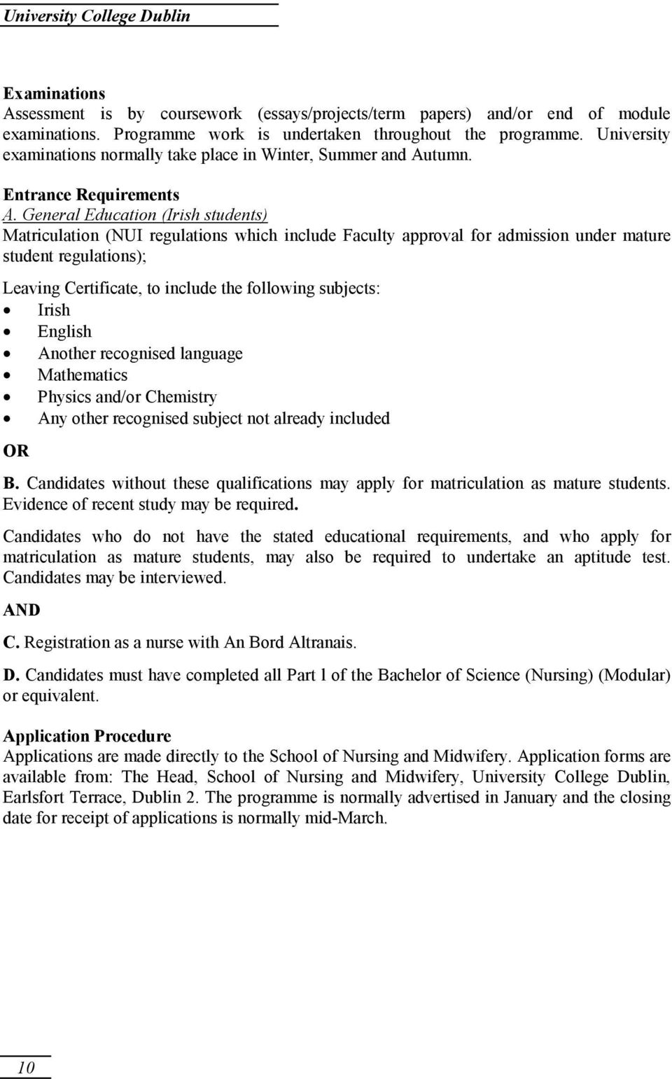 an bord altranais nursing registration lecturer in nursing school an bord altranais nursing registration nursing and midwifery registration diploma in general