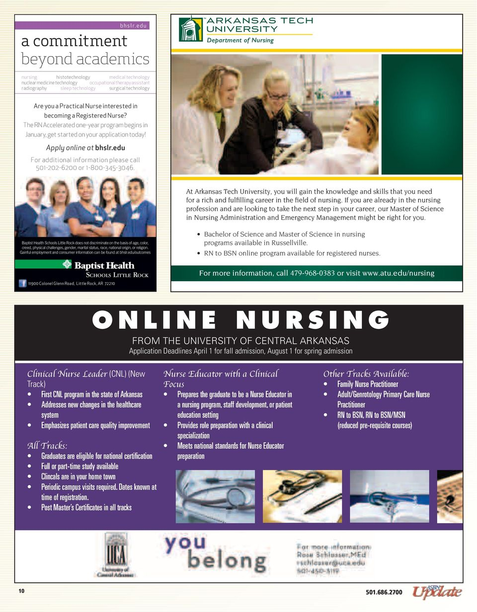 Practical Nurse interested in becoming a Registered Nurse? The RN Accelerated one-year program begins in January, get started on your application today!