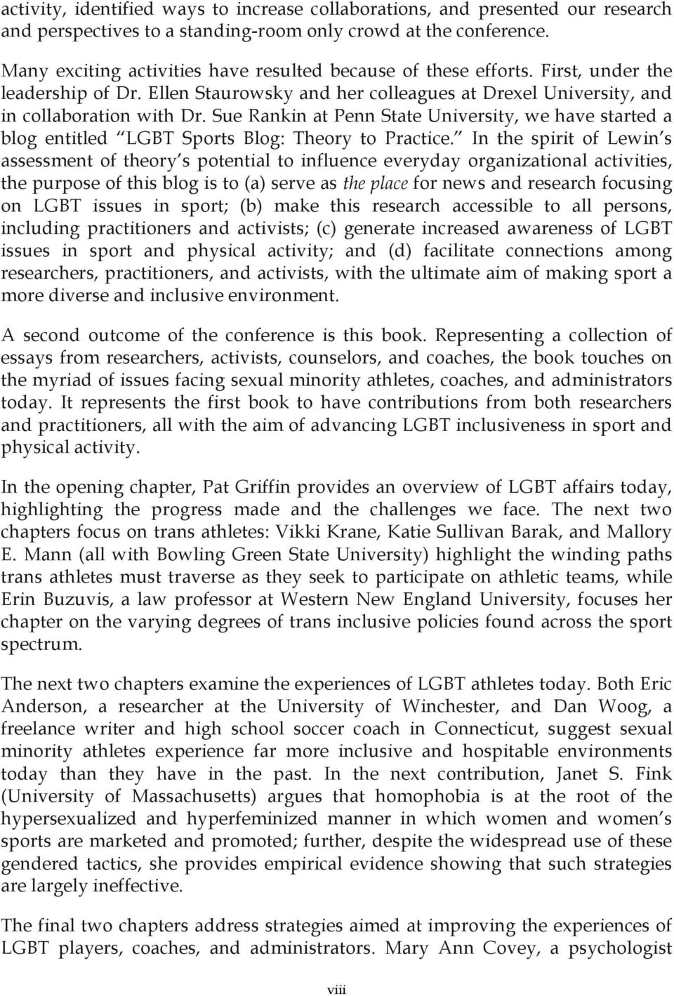 essays on sports sport essays sport essays gxart sport essays  sexual orientation and gender identity in sport essays from sue rankin at penn state university we