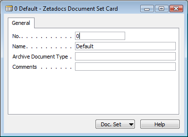 Configuring Zetadocs for NAV: Advanced Configuration Result: Figure 18 - Zetadocs Template Customized Message Result (iii) Archive Document Types As discussed earlier, archive document types allow