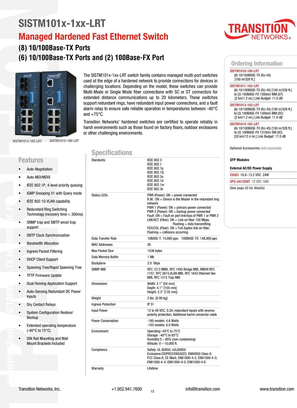 Hardened Ethernet  Network Technology for Challenging Environments - PDF