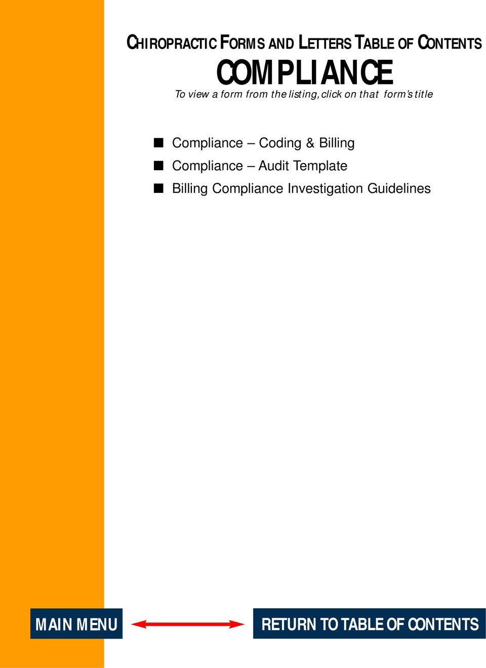 Compliance Coding & Billing Compliance Audit Template Billing