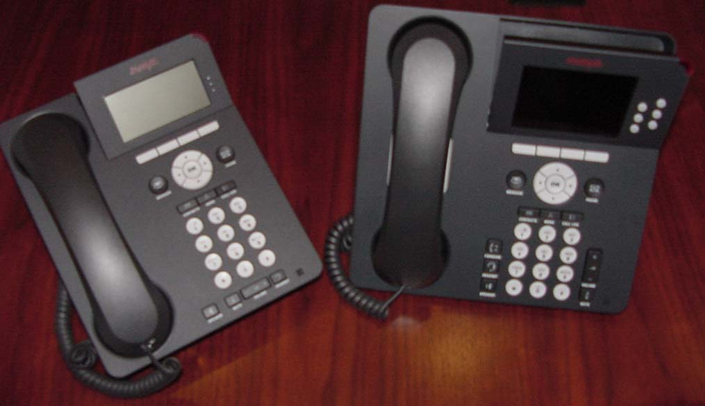 Telephone Stand and Display Adjustment: The telephone can be placed in