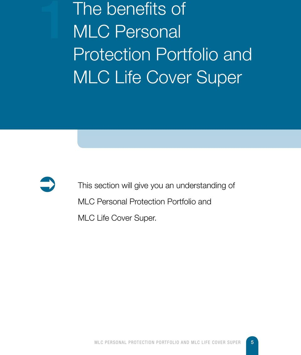 section will give you an understanding of MLC