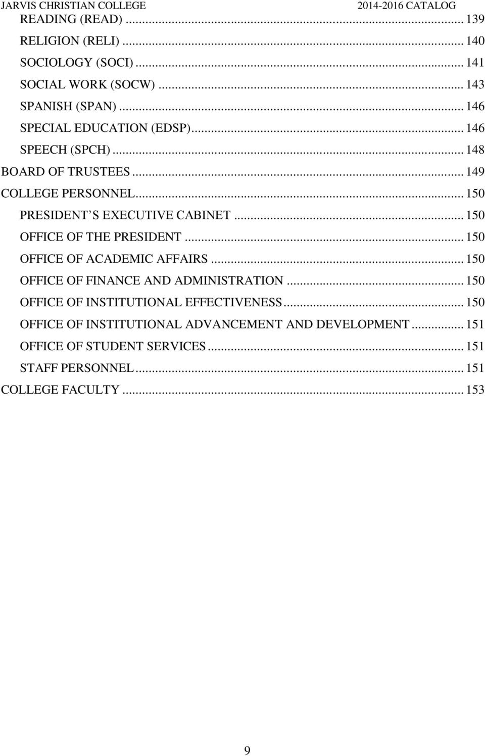 Jarvis christian college hawkins texas pdf - Office of institutional effectiveness ...