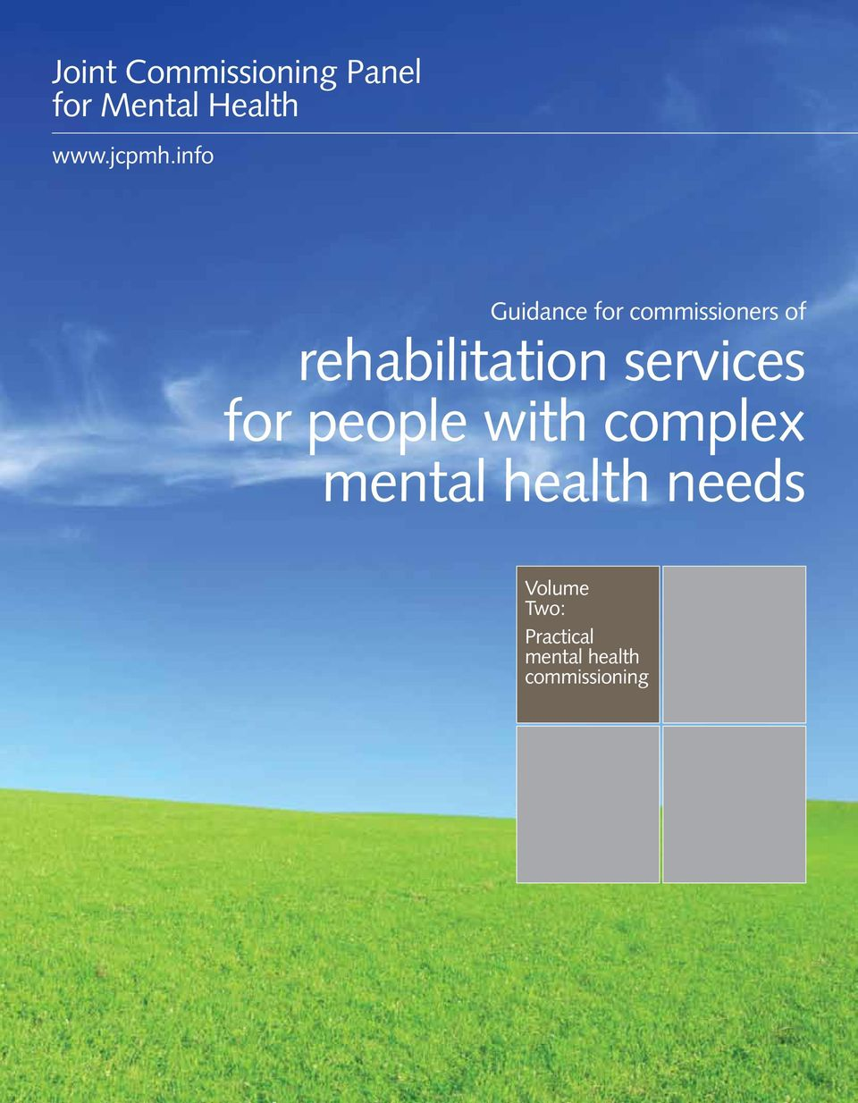 complex mental health needs 1 Guidance for commissioners of rehabilitation
