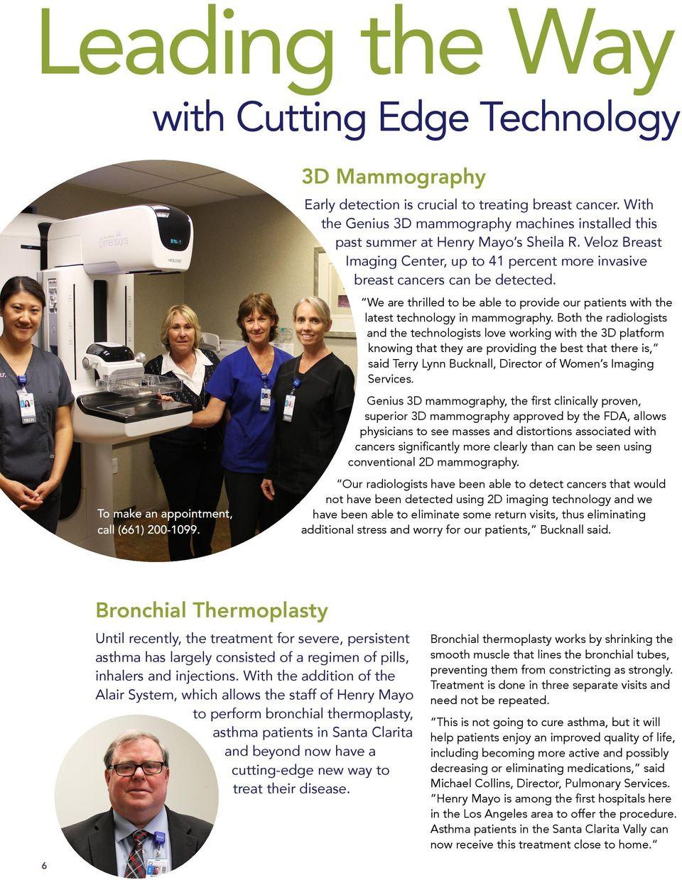 We are thrilled to be able to provide our patients with the latest technology in mammography.