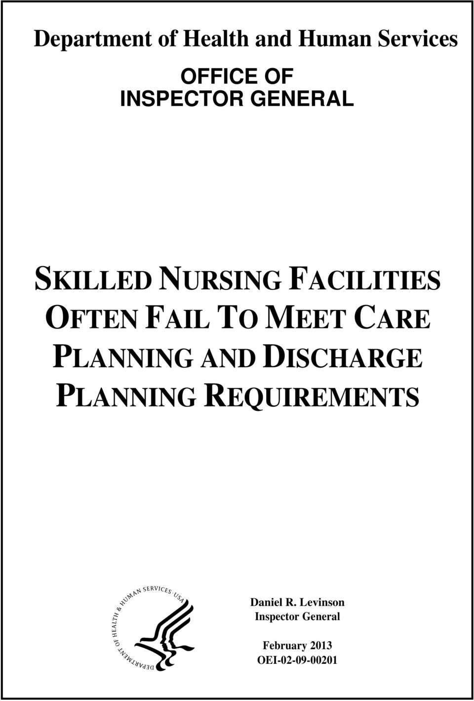 TO MEET CARE PLANNING AND DISCHARGE PLANNING REQUIREMENTS