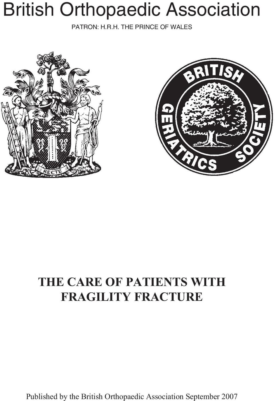 PATIENTS WITH FRAGILITY FRACTURE Published