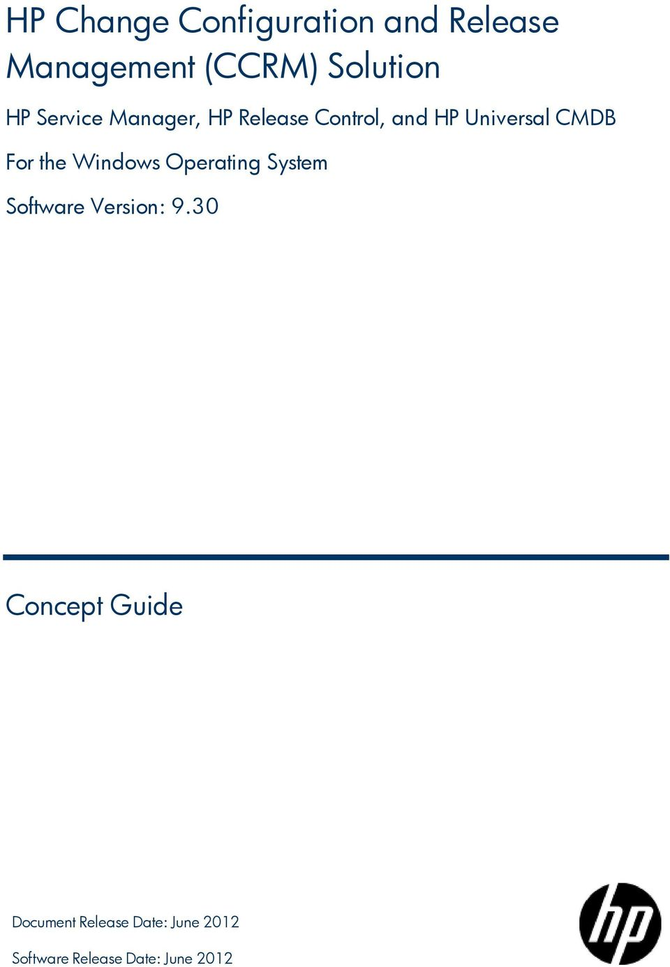 For the Windows Operating System Software Version: 9.