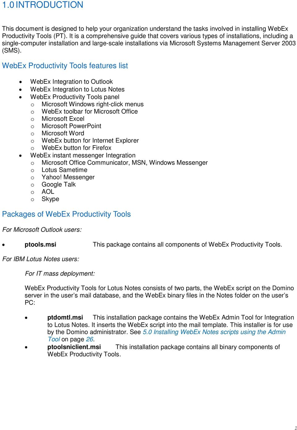 Webex integration to outlook download