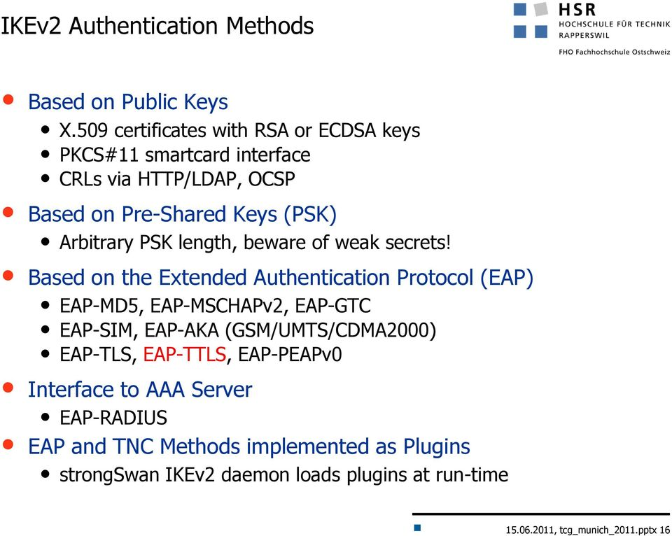 PSK length, beware of weak secrets!