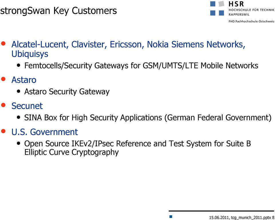 SINA Box for High Security Applications (German Federal Government) U.S. Government Open Source