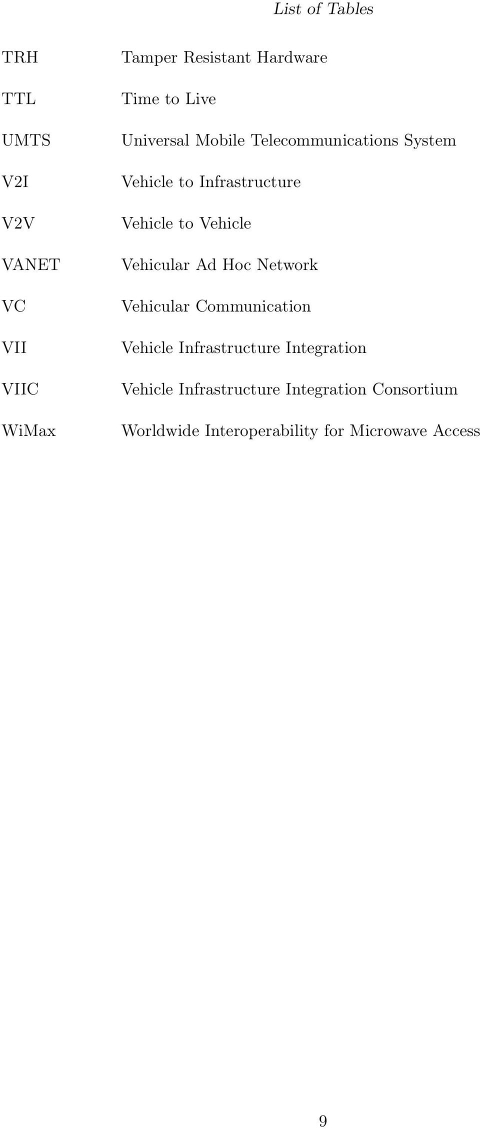 vehicular ad hoc networks thesis In vehicular networks, regular exchange of current position, direction, speed, etc, enable mobile vehicle to foresee an imminent vehicle accident and notify the driver early enough in order to take appropriate action(s) or the vehicle on its own may take adequate preventive measures to avert the looming accident.