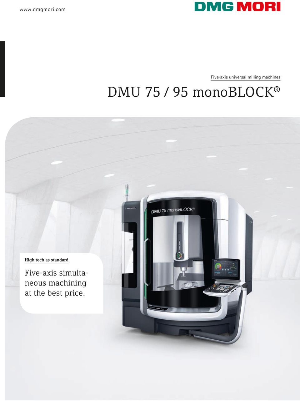 machines DMU 75 / 95 monoblock High
