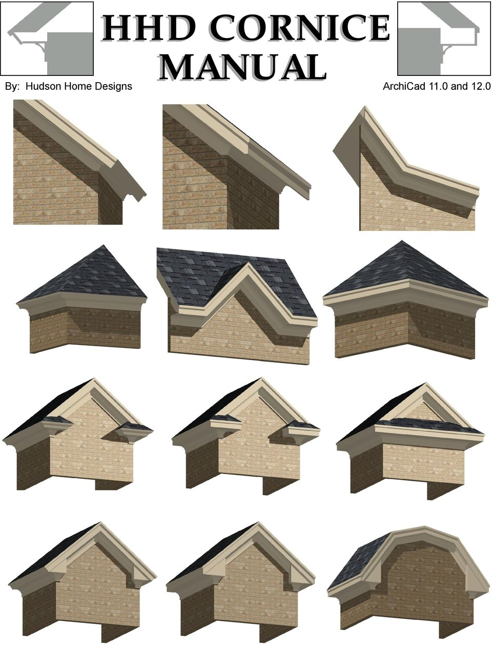 Hhd cornice manual by hudson home designs archicad 11 0 for Hudson home designs