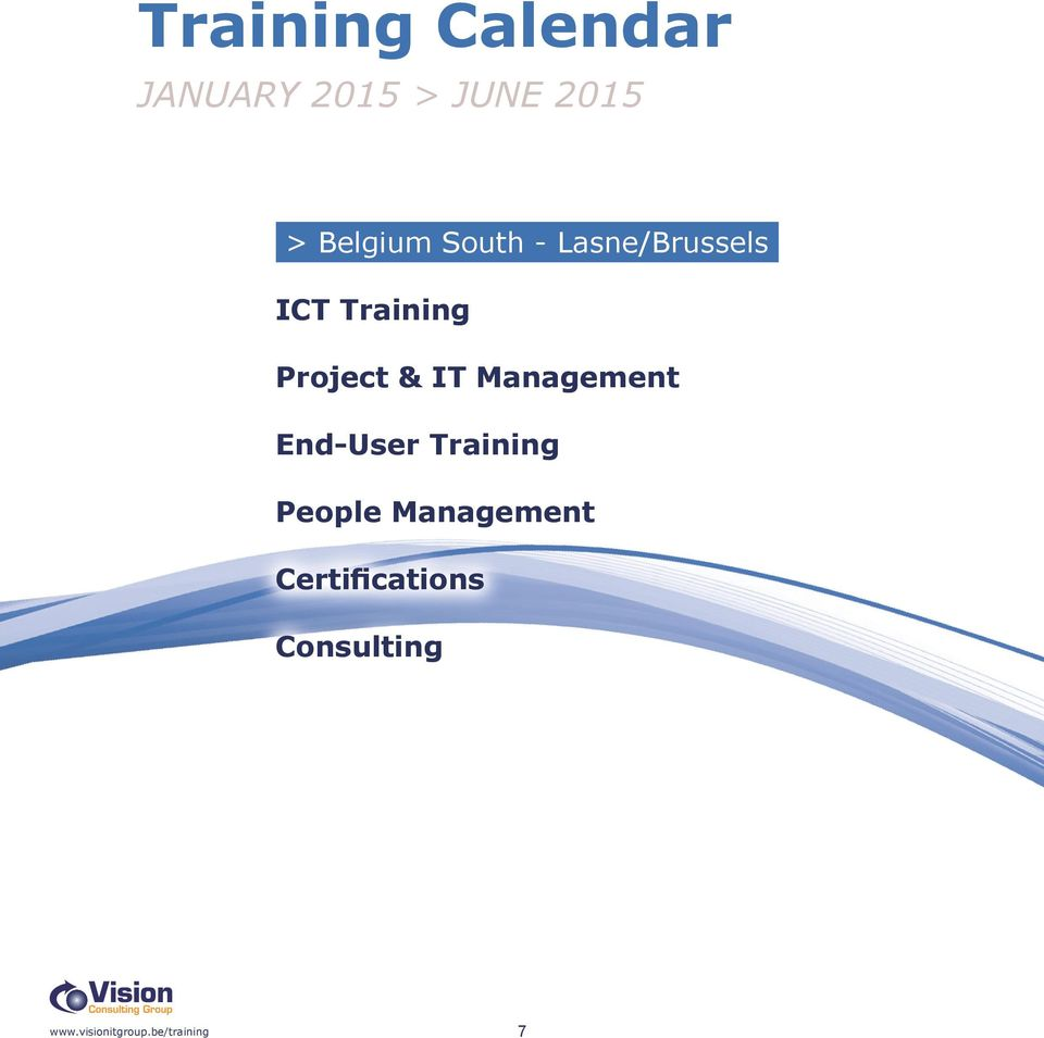 Training Project & IT Management End-User