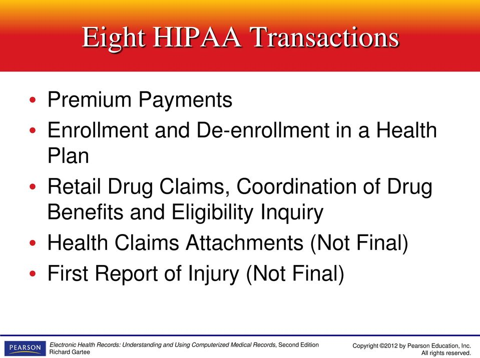 Coordination of Drug Benefits and Eligibility Inquiry
