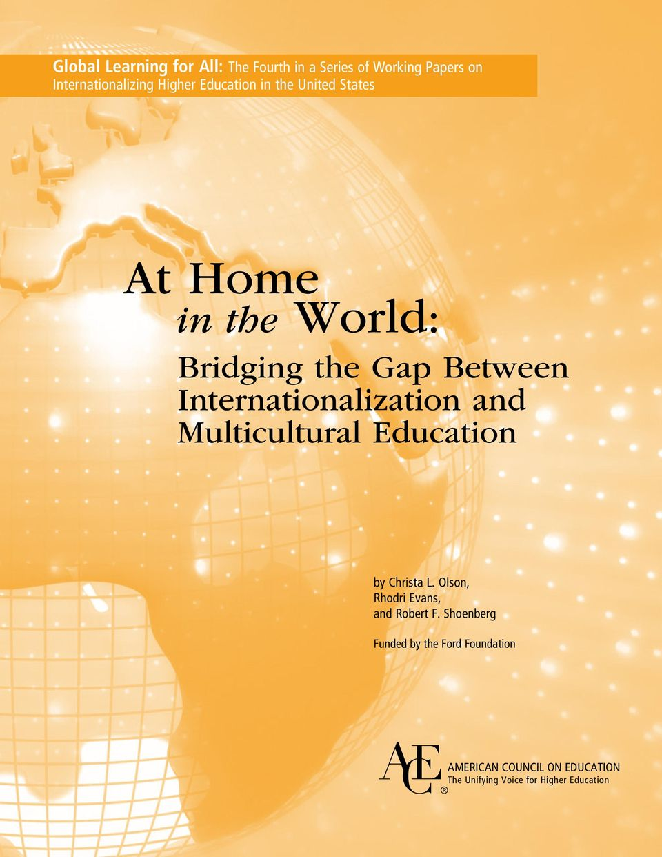 Internationalization and Multicultural Education by Christa L.