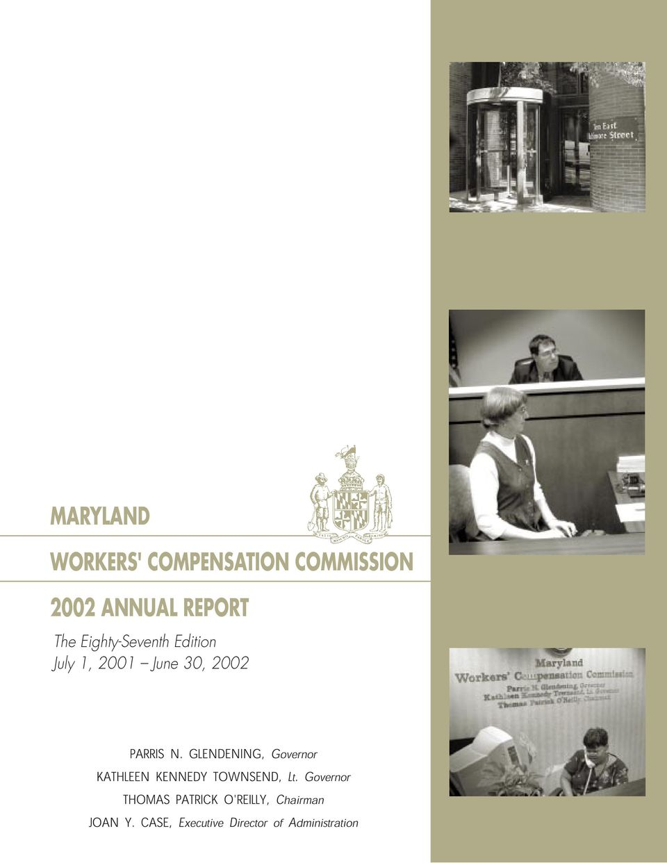 ANNUAL REPORT The