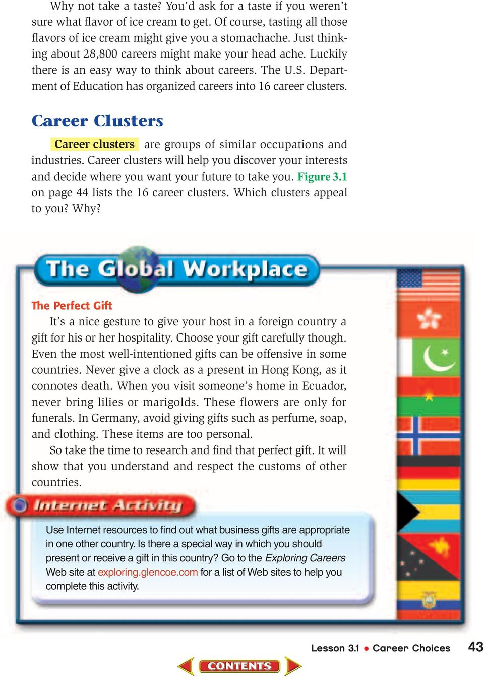 worksheet Career Cluster Worksheet researching careers chapter 3 career cluster you will explore the clusters are groups of similar occupations and industries help