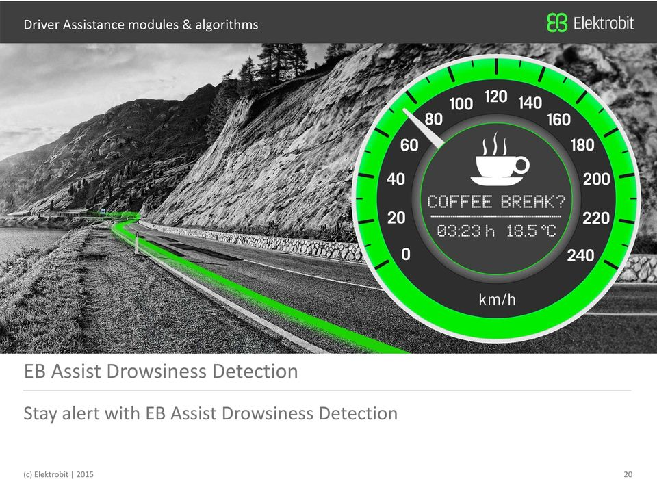 Detection Stay alert with EB