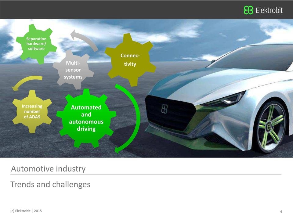 Automated and autonomous driving 4 Automotive