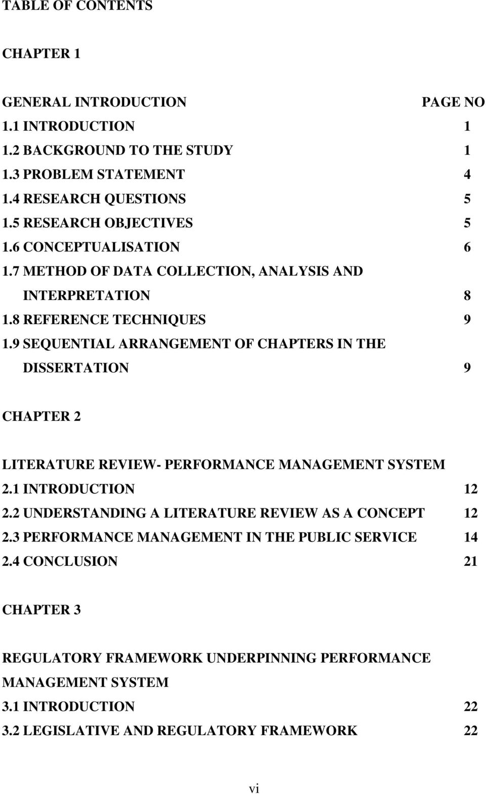literature review on performance management