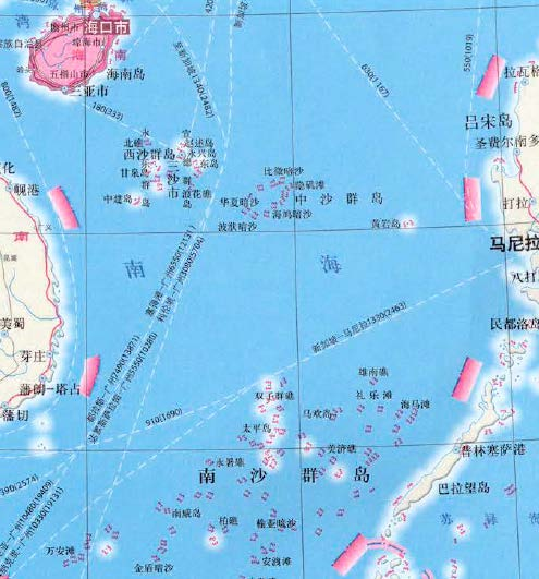 Dashed Line as a National Boundary Discussion Under this possible interpretation, the dashed line that appears on Chinese maps is intended to indicate a national boundary between China and