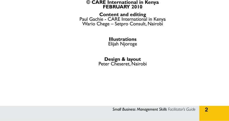 Consult, Nairobi Illustrations Elijah Njoroge Design & layout