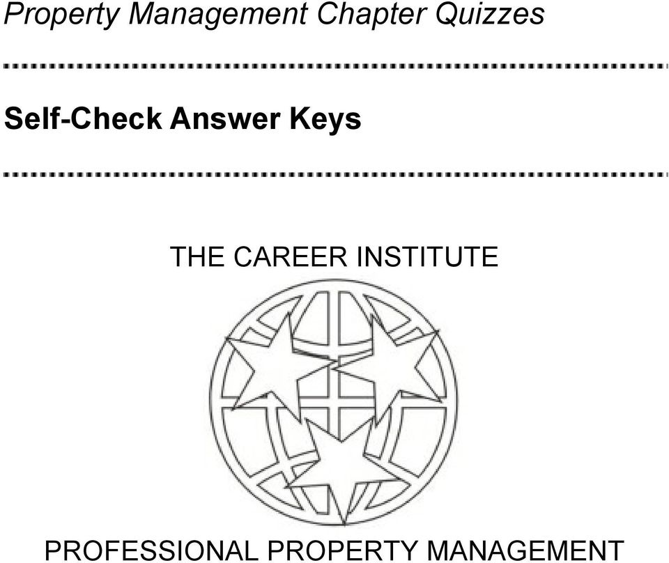 Keys THE CAREER INSTITUTE