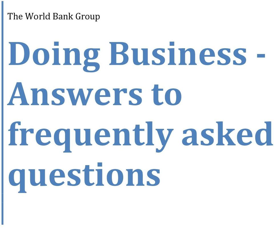 Business - Answers