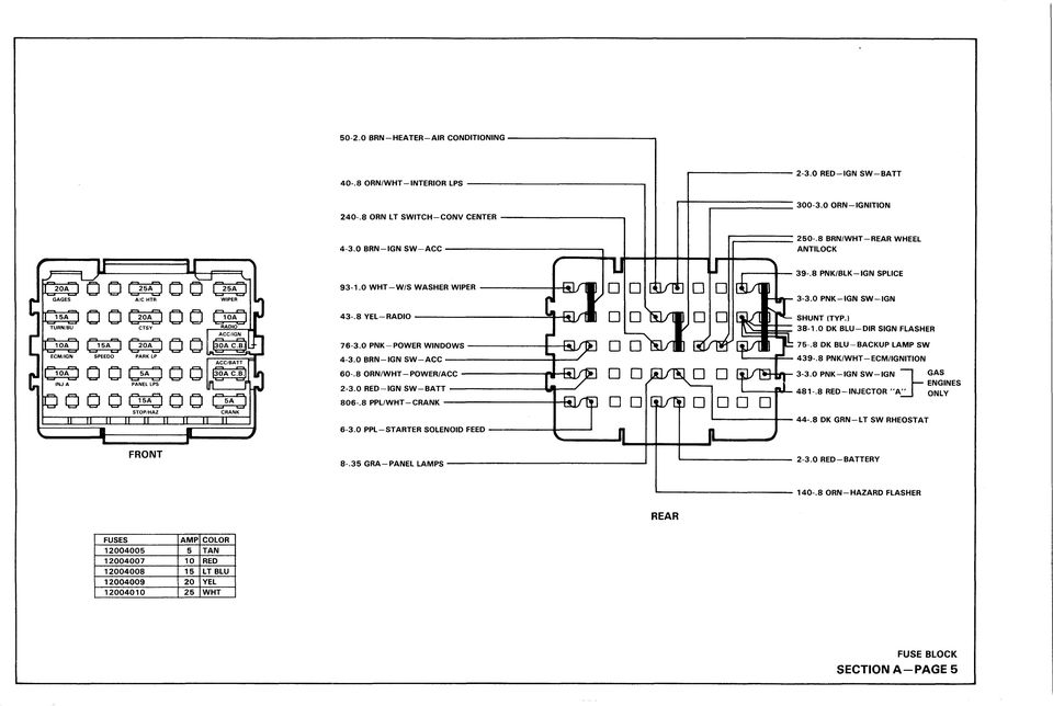 light duty truck wiring diagram booklet st