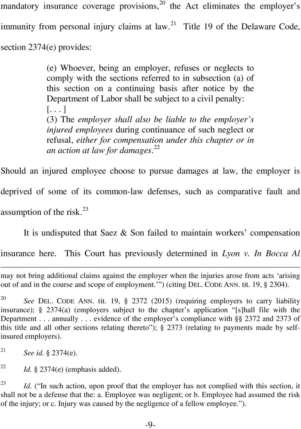 continuing basis after notice by the Department of Labor shall be subject to a civil penalty: [.