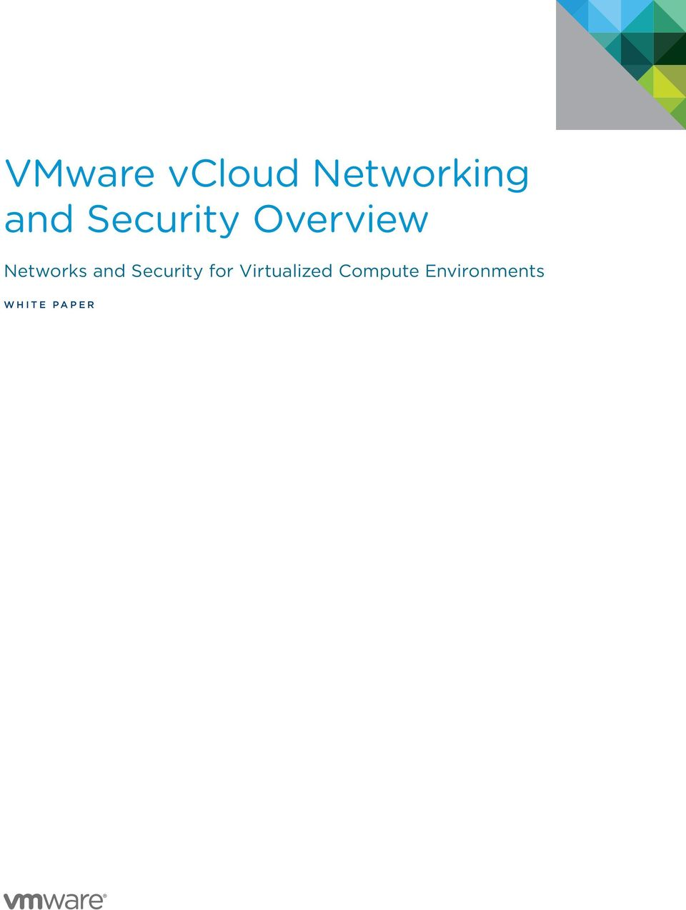 and Security for Virtualized