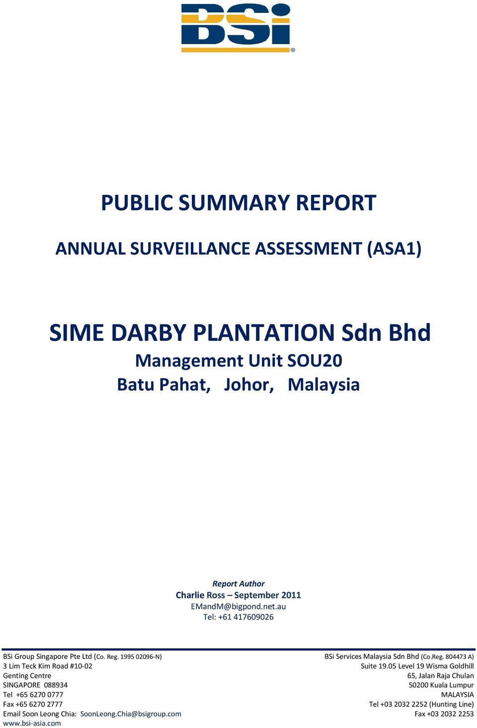 sime darby risk management He joined sime darby in 2008 as head of value management and investor relations  prior to joining sime darby, he was head of financial market surveillance,.