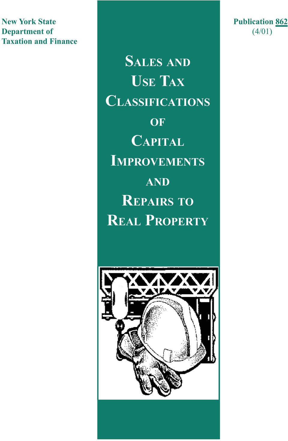 SALES AND USE TAX CLASSIFICATIONS OF