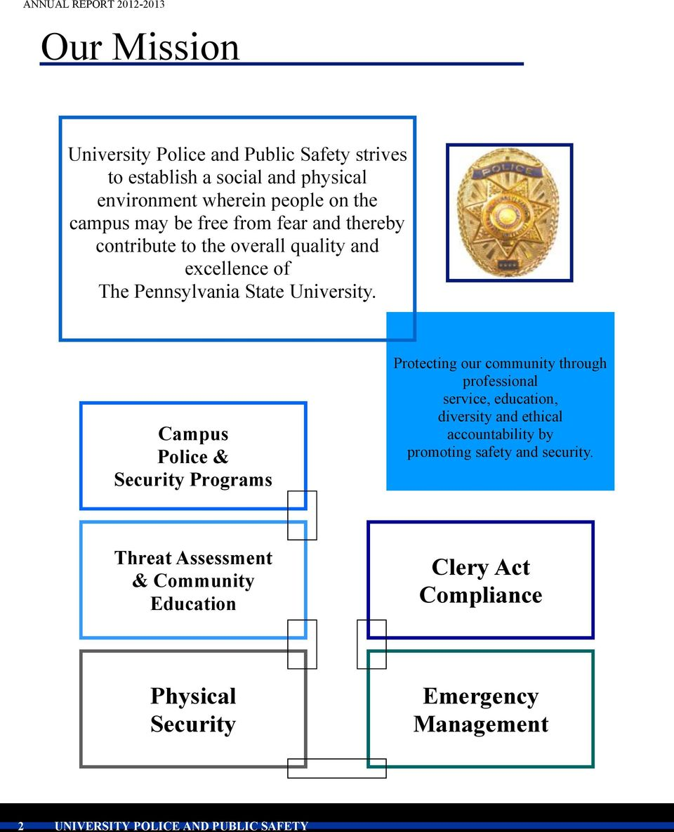 The pennsylvania state university pdf campus police security programs protecting our community through professional service education diversity and fandeluxe Choice Image