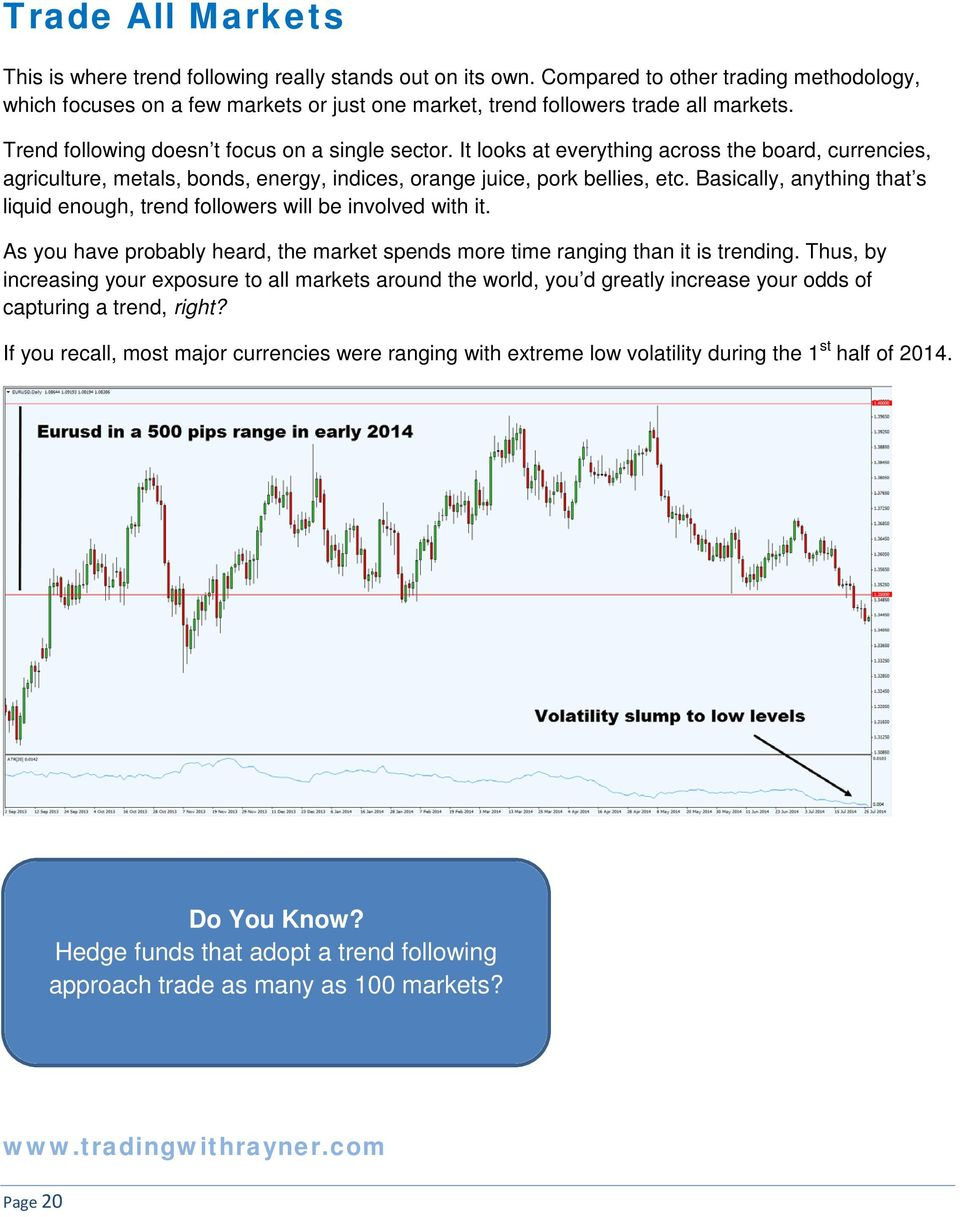 Forex trend following course