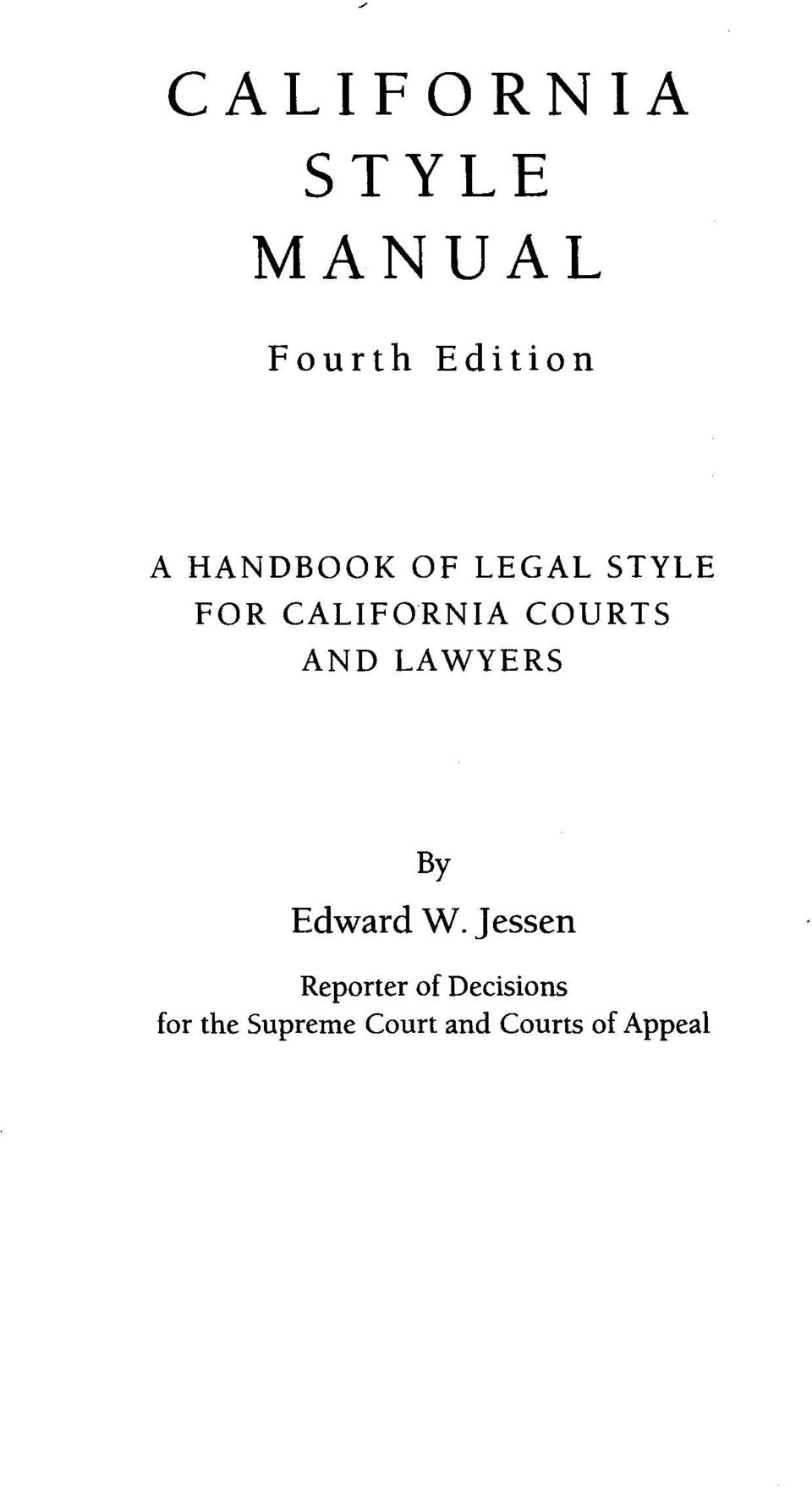 AND LAWYERS By Edward W.