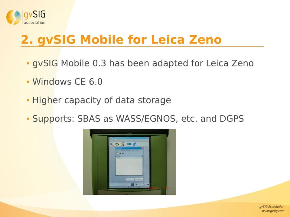 3 has been adapted for Leica Zeno Windows