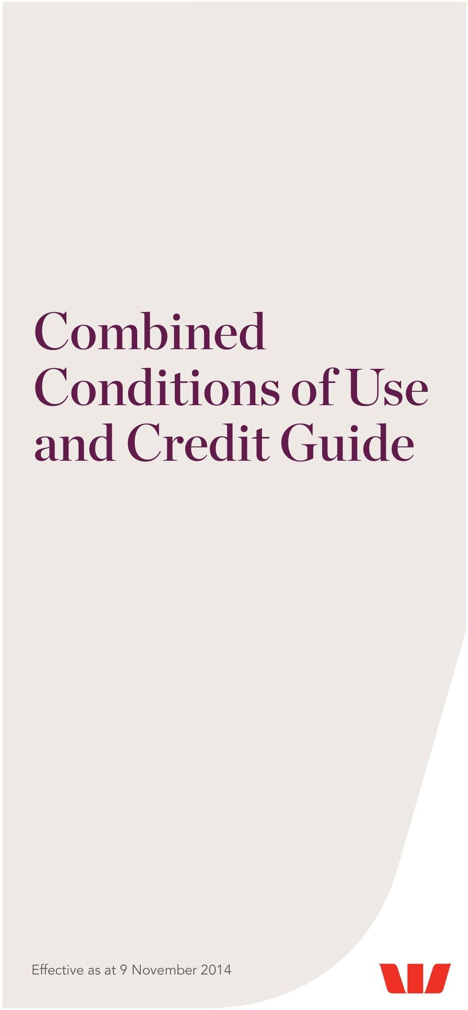 and Credit Guide