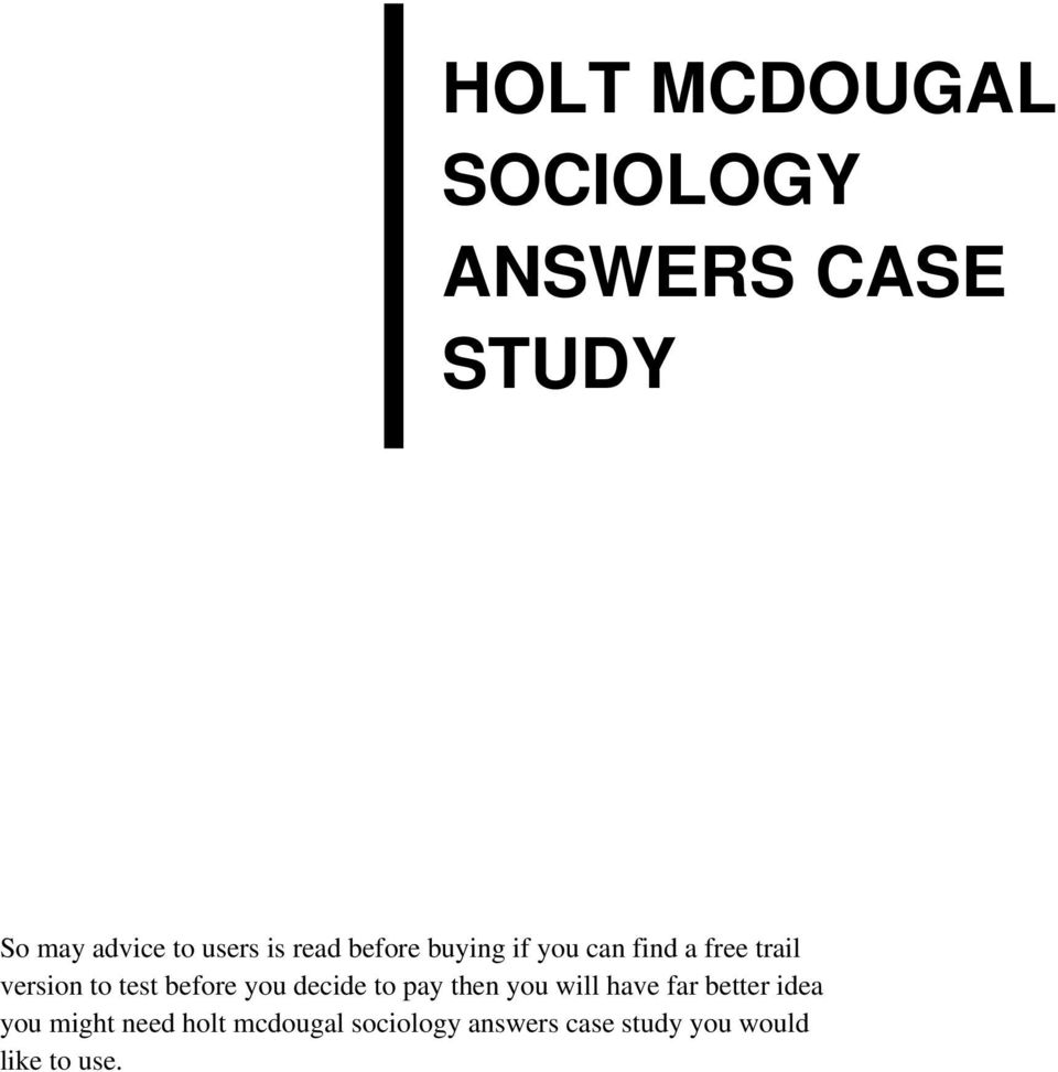 holt case essay Below is an essay on holt renfrew from anti essays, your source for research papers, essays, and term paper examples major issues the biggest issue facing holt renfrew's distribution network is the need to improve the operations at the distribution center to reduce stock outs at the stores.