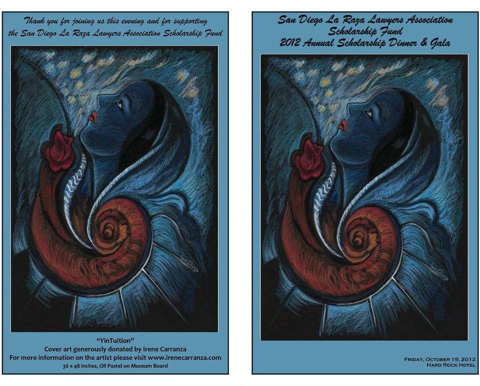 Gala YinTuition Cover art generously donated by Irene Carranza For more information on the artist please
