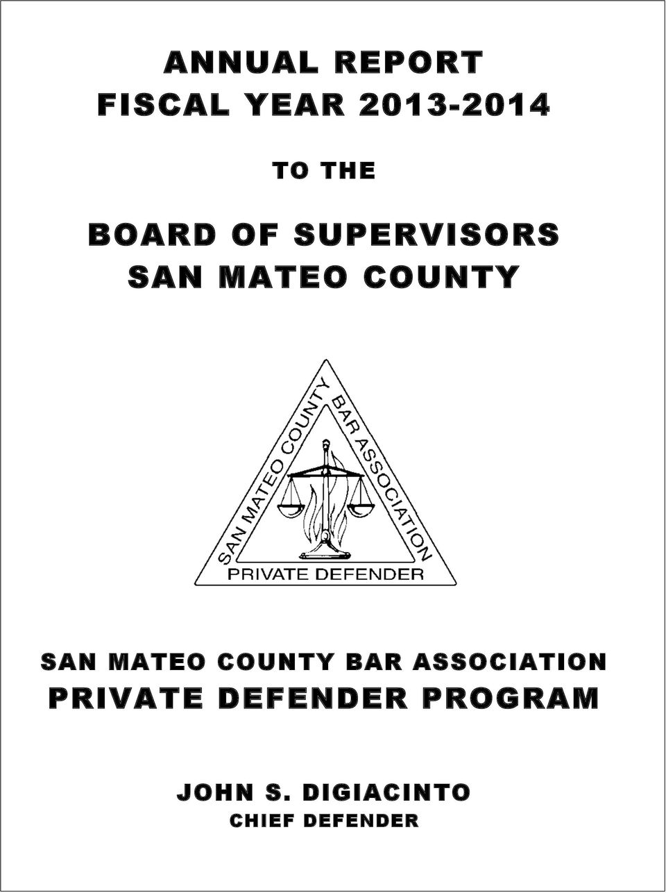 MATEO COUNTY BAR ASSOCIATION PRIVATE