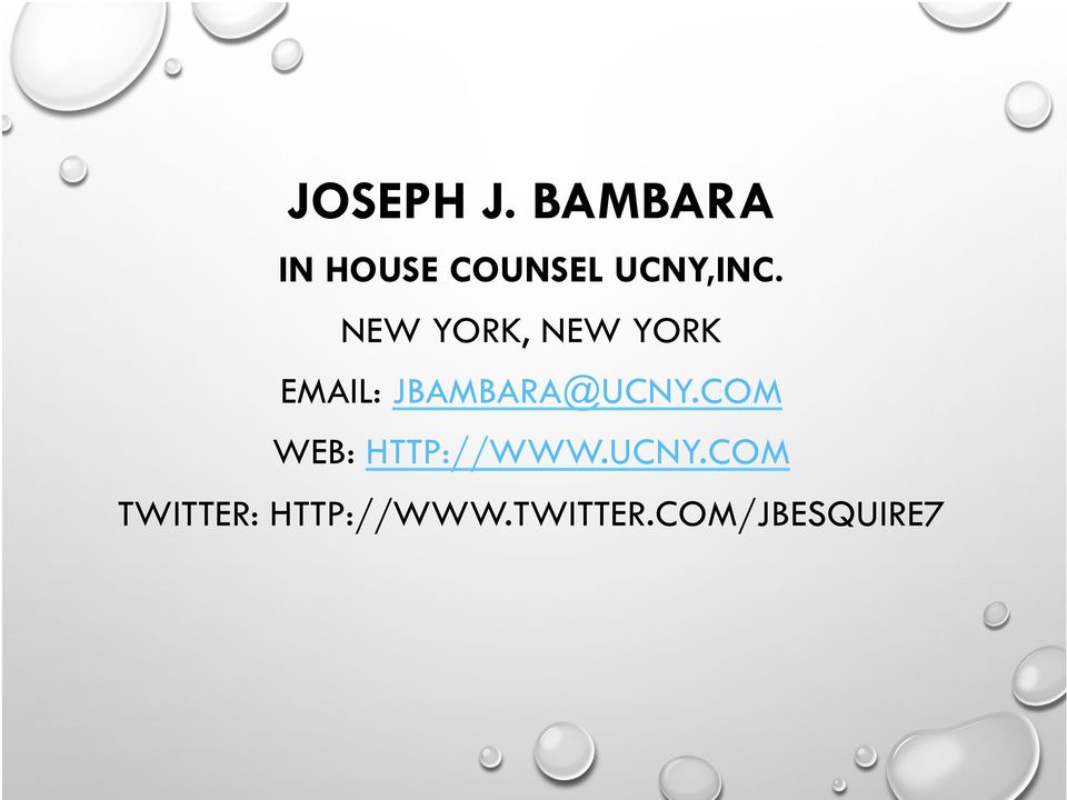 NEW YORK, NEW YORK EMAIL: